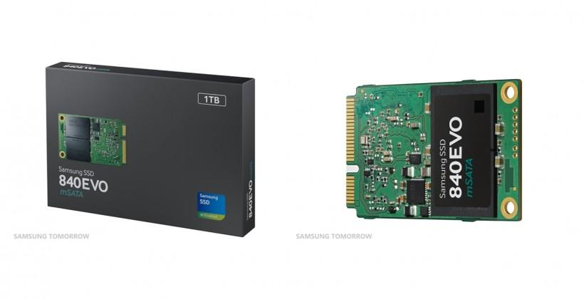 Samsung to launch 1TB mSATA SSD this month