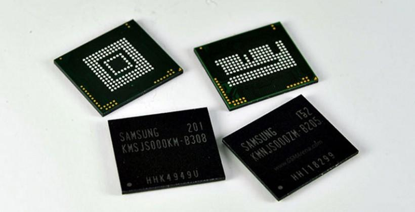 Samsung 8Gb RAM chip promises 4GB of RAM in future smartphones