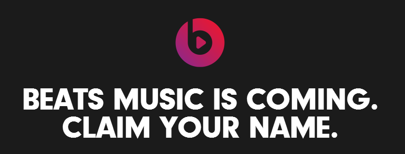 Beats Music streaming service opens up username reservations