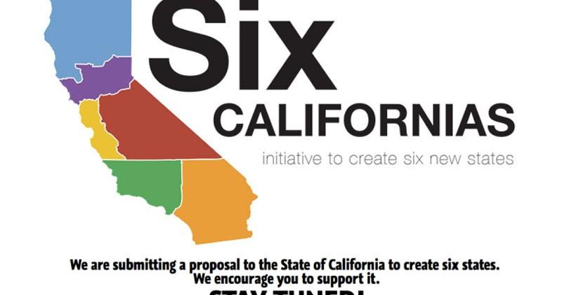Six Californias Plan would make Silicon Valley its own state