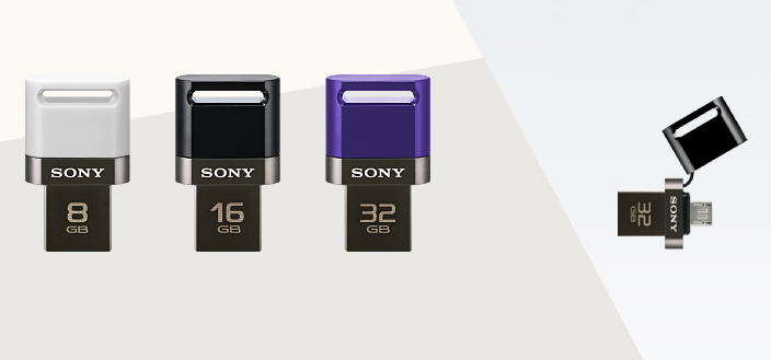 Sony to launch dual USB flash drive for Android devices Jan. 2014