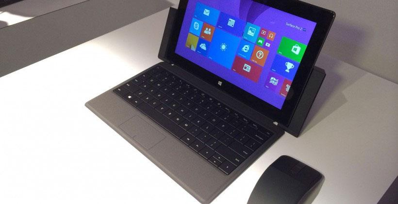 Microsoft Surface Pro 2 firmware update pulled after error code issue