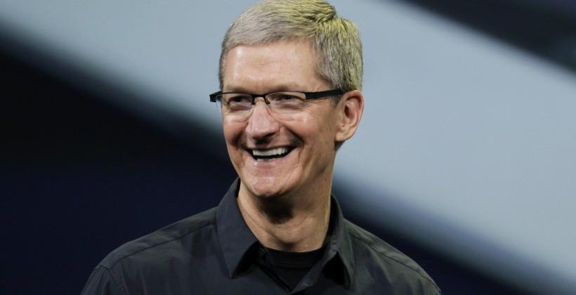 Apple CEO Tim Cook revs rumor engine with talk of big plans