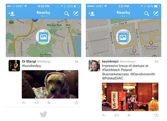"""Twitter """"Nearby"""" would show local tweets on a map"""