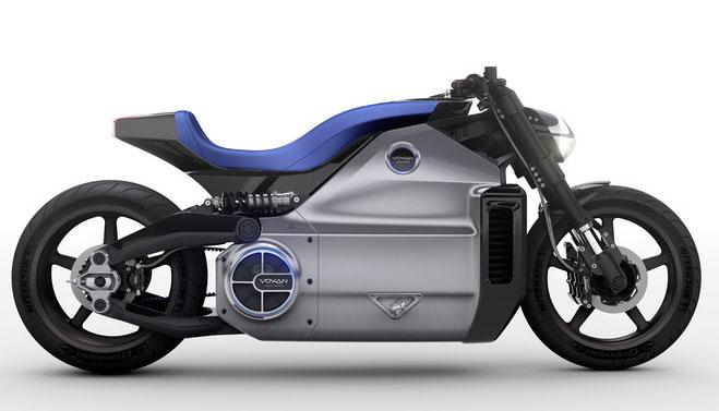 Voxan unveils 200hp Wattman electric motorcycle