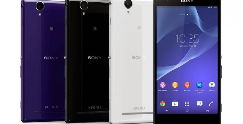 Sony Xperia T2 Ultra and Ultra dual official with 6-inch displays