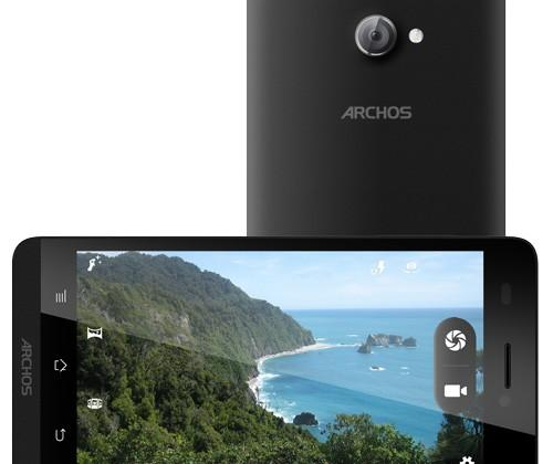 Archos 45 and 50 Helium official: off-contract and quad-core
