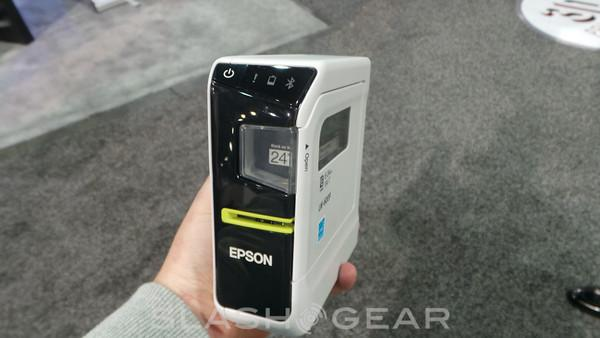 Epson's newest Android label maker introduced at CES 2014