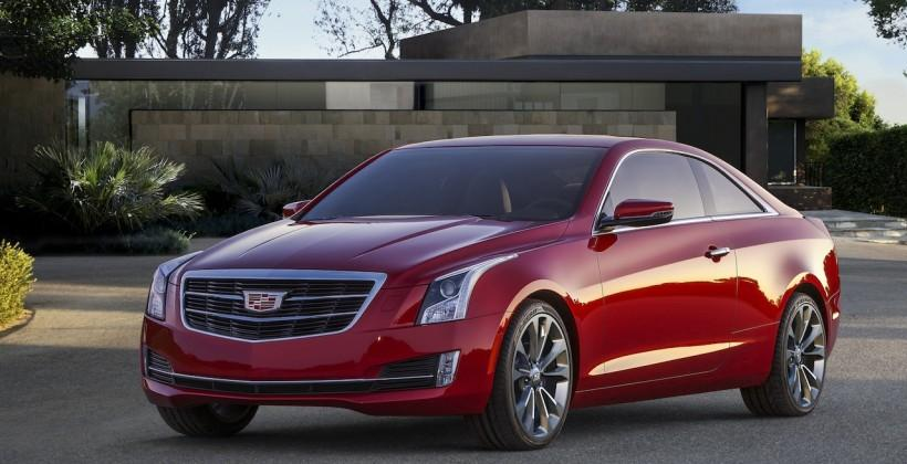 2015 Cadillac ATS Coupe revealed with Onstar 4G hotspot