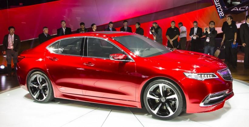 2015 Acura TLX Prototype teases showroom car for 2014