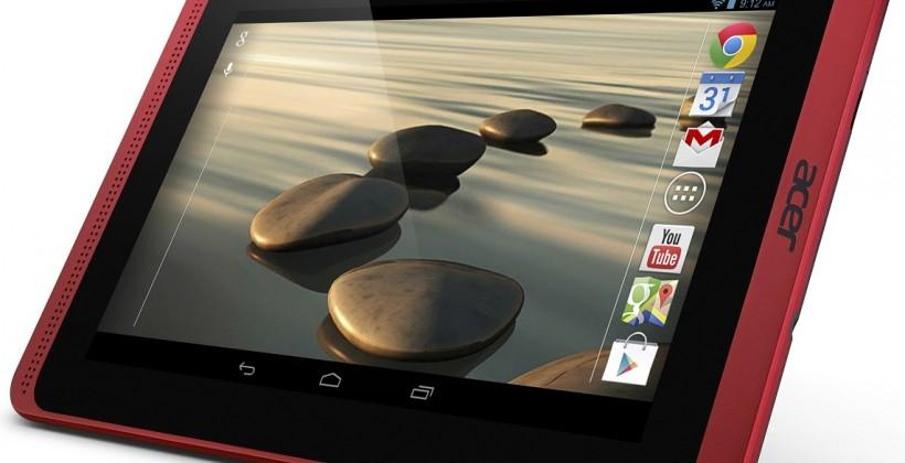 Acer Iconia B1-720 7-inch Android tablet is slimmed down and faster