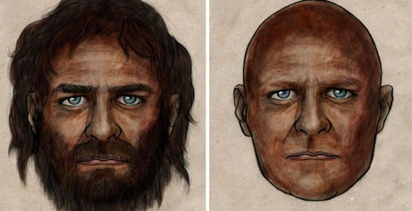DNA shows 7000-year-old man had dark skin and light eyes
