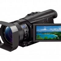 Sony 4K Handycam FDR-AX1 offers UHD recording in a small form factor