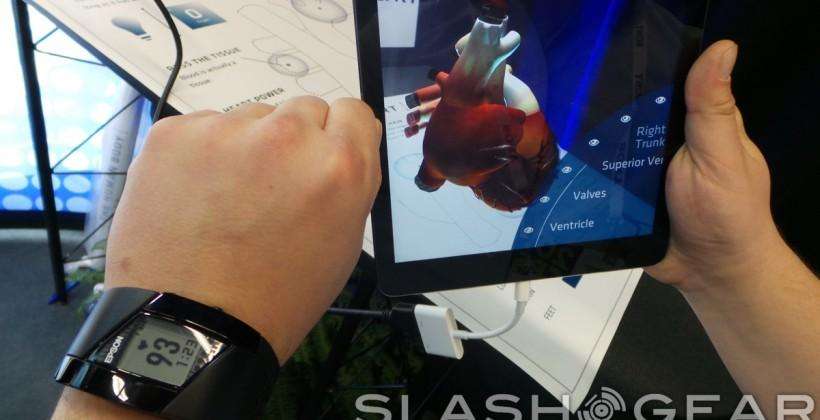 Epson's Pulsesense wearables, hands-on and heart stopping