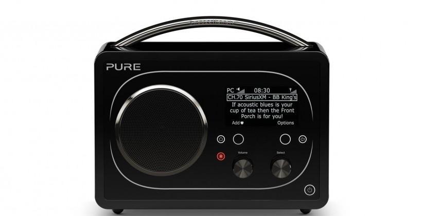 "Pure Evoke F4 is a multi-room ""ultimate radio"" with Jongo comptaibility"