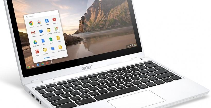 Acer Chromebook C720P refreshed with 2GB of memory and Moonstone color