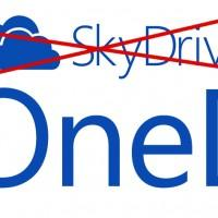 SkyDrive rebranded to OneDrive following legal tussle with British Sky Broadcasting