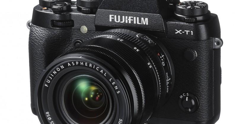 Fujifilm X-T1 packs super-speed viewfinder and weatherproofing
