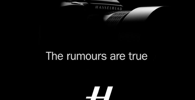 Hasselblad to launch first medium-format CMOS camera