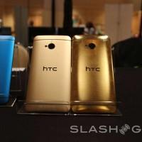 HTC One gold vs Gold hands-on: 24kt vs Amber