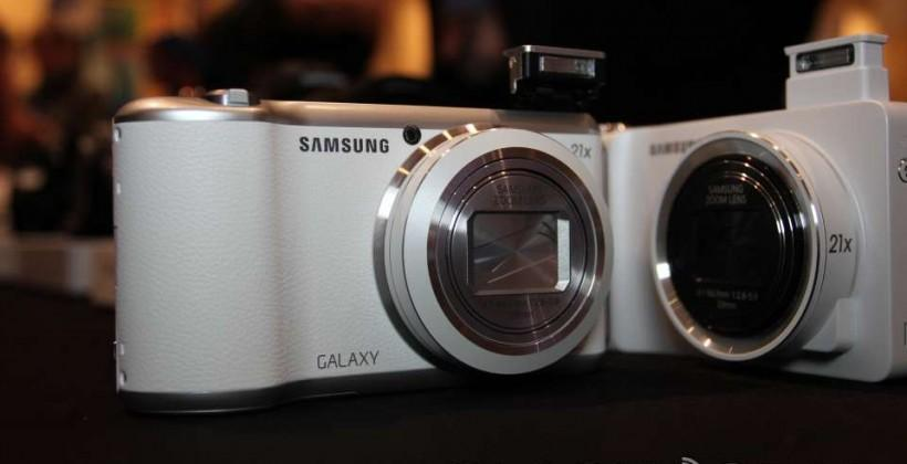 Samsung Galaxy Camera 2 hands-on vs Galaxy Camera 2013