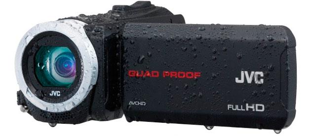 JVC GZ-R70 and GZ-R10 rugged camcorders boast quad-proof durability
