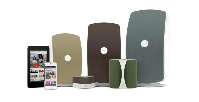 Pure uses Caskeid technology for wireless music system, intro's developers kit at CES