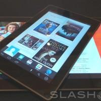 Kobo Arc, the reading centric tablet lineup, hands-on