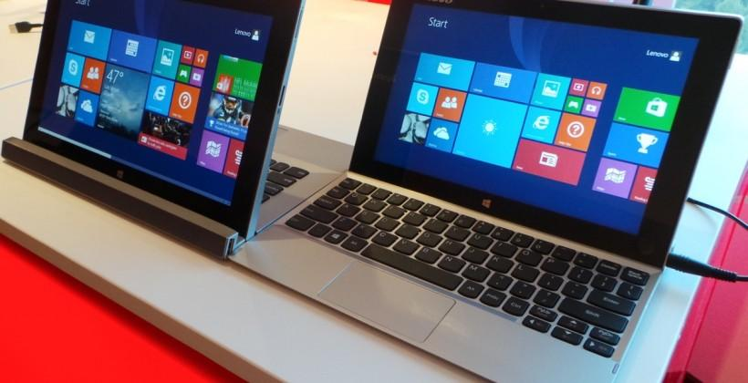 Lenovo's Miix 2 'multimode' devices, hands-on at CES 2014