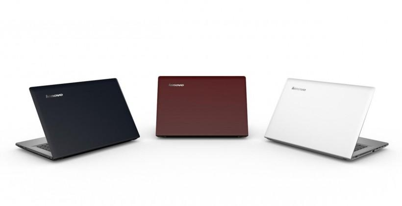 Lenovo Y and Z Series clamshell laptops augment C560 AiO unveiling