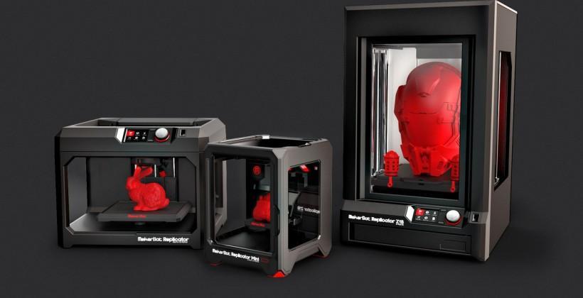 MakerBot announces 5th generation 3D printers at CES 2014