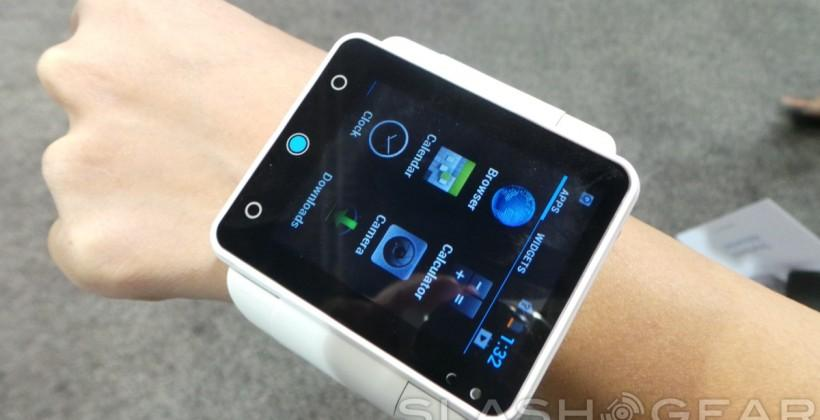Neptune Pine, our hands-on with the biggest smartwatch we've seen