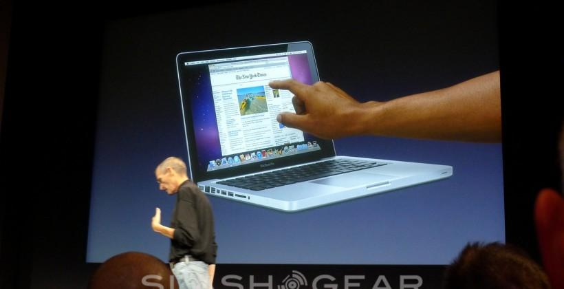 MacBook touch patent filed in 2010 – just as Steve Jobs slammed the idea