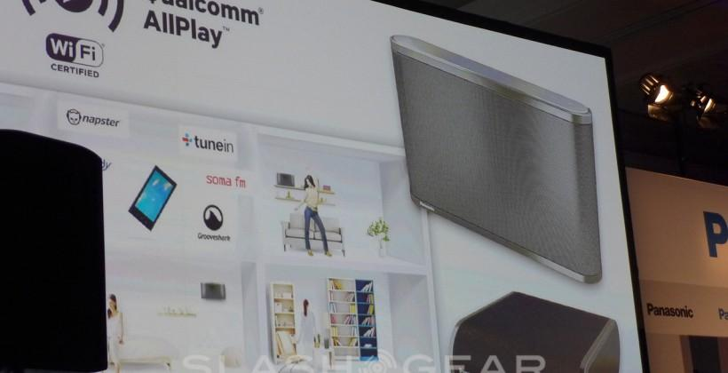 Panasonic multi-room speakers with Qualcomm AllPlay unveiled