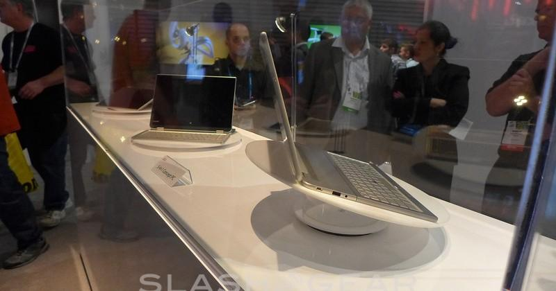 Toshiba Shape-Shifting Concept PC eyes-on