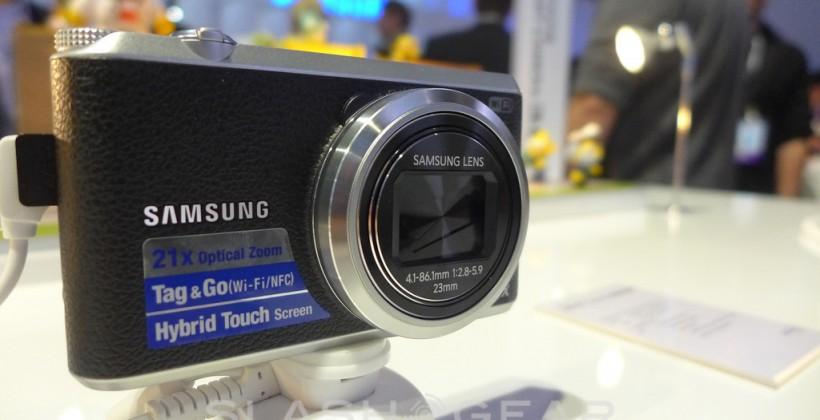 Samsung WB350F compact camera hands-on