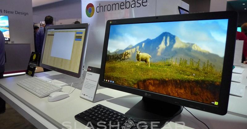 LG Chromebase hands-on: 21.5-inch Full HD all-in-one