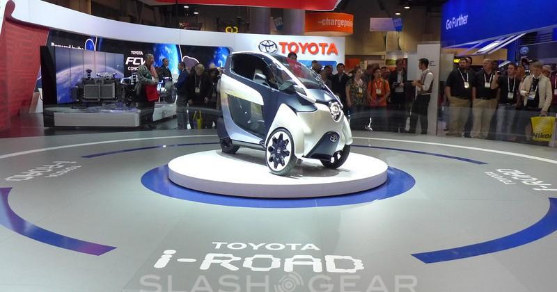 Toyota i-Road first-drive experience