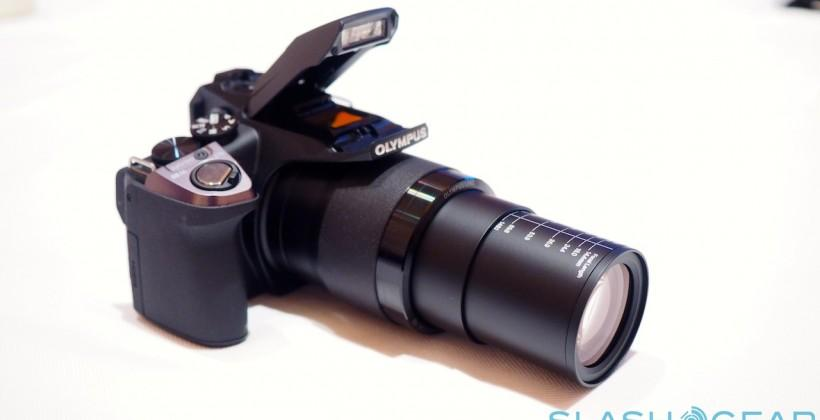 Olympus Stylus SP-100EE IHS flaunts crazy 50x optical super-zoom