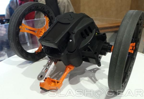 Parrot Jumping Sumo Rear