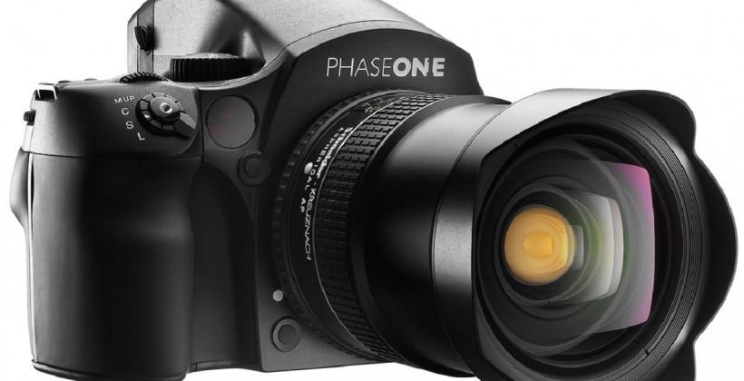 Phase One IQ250 medium-format camera offers 50MP CMOS sensor