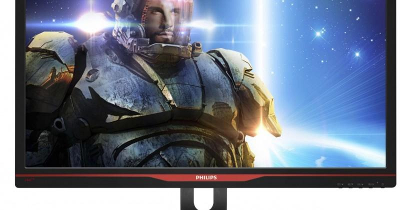 Philips 27-inch monitor touts NVIDIA G-Sync for a better gaming experience