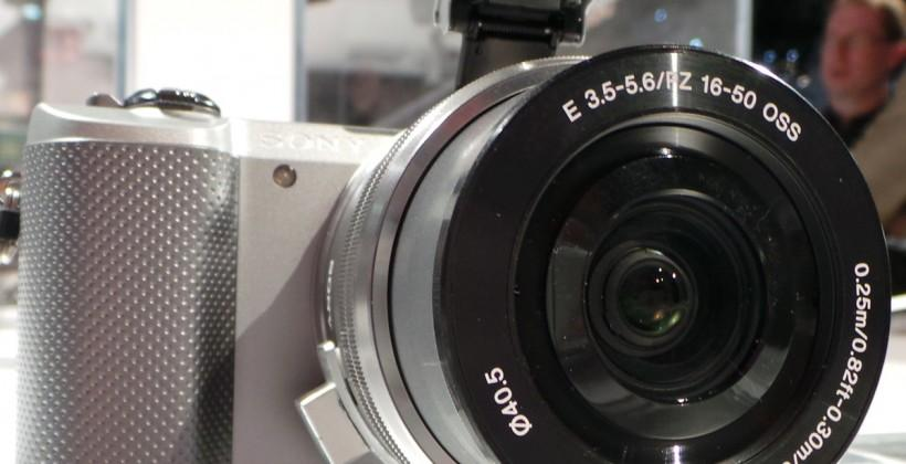 Hands-on with Sony's new a5000