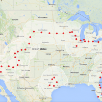 Tesla Supercharger network now stretches from coast to coast