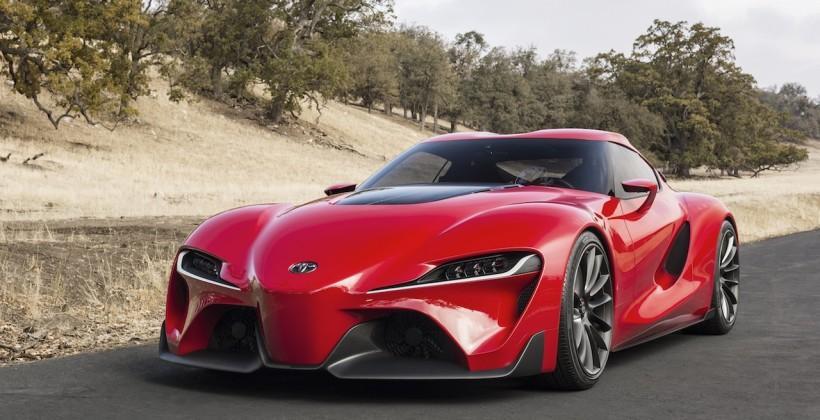 Toyota FT-1 sportscar concept debuts at Detroit auto show