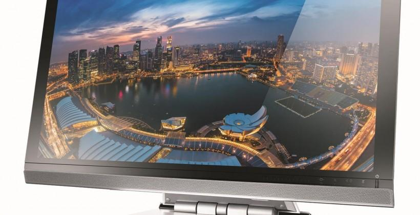 Lenovo ThinkVision 28 Smart 4K smart display functions as Android