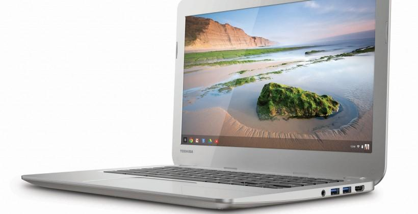 Toshiba Chromebook announced with 13.3-inch display and Haswell