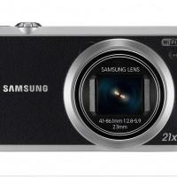 Samsung WB350F compact camera offers 21x optical zoom