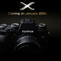 Fujifilm X-mount camera teased: retro looks, next-gen abilities