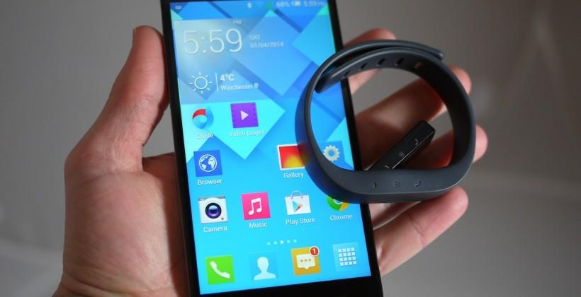 Alcatel OneTouch Idol X+ and BOOMBand wearable hands-on: Gunning for Moto G